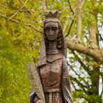 Het Barbarabeeld van Nieuwenhagen